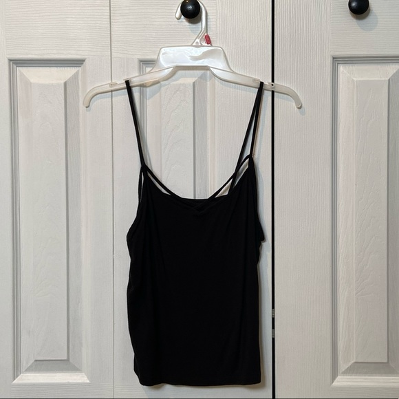 American Eagle Outfitters Tops - Strappy black American Eagle tank top